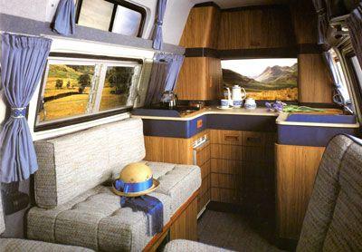 VW T25 Holdsworth Variety Interior Furniture