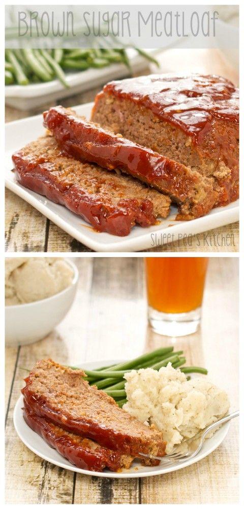 The Best Meatloaf…encased in a brown sugar glaze.