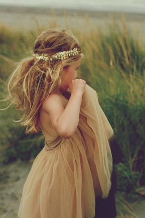 Flowergirl Inspiration: Child of the Tribe / View more on The LANE