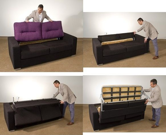 35 best images about nuestros productos on pinterest for Sofas que se hacen cama