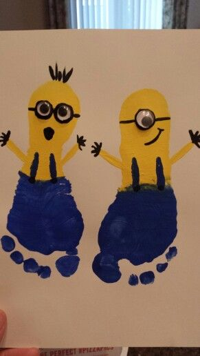 Abi's Minion footprint craft