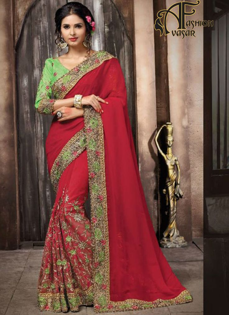 Sarees Online-New Online Party Wear Sarees Shopping