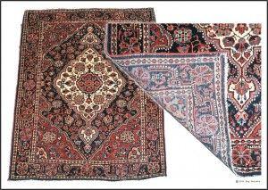tips on rug buying woven - front and back