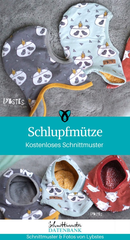 Slip hat sewing free sewing pattern kids babies sewing idea freebie gra …   – Nähideen für Babys & Kinder