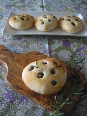 「むかごとローズマリーのフォカッチャ」petitpain   お菓子・パンのレシピや作り方【corecle*コレクル】