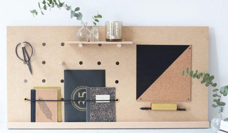 die besten 25 pegboard organisation ideen auf pinterest pegboard bastelraum hobby. Black Bedroom Furniture Sets. Home Design Ideas