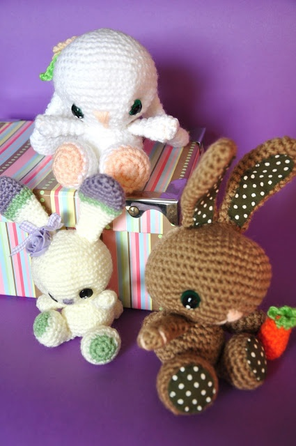Chica outlet & DIY: Conejitos - free pattern