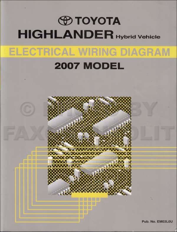 10 1992 Toyota Corolla Electrical Wiring Diagram Wiring Diagram Wiringg Net Electrical Wiring Diagram Toyota Highlander Hybrid Electrical Wiring