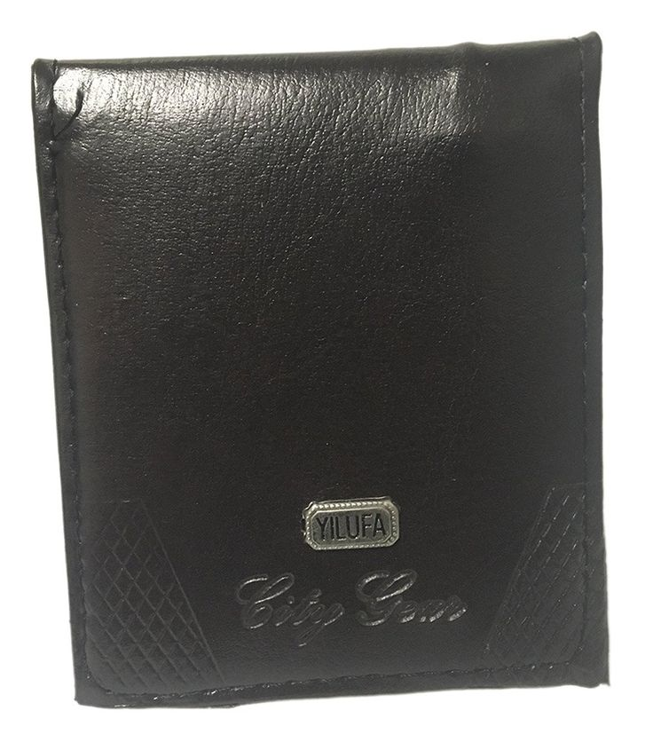 HomeBella ComfyFit Men's Wallets (Bi-fold) (Yilufa City Gear Dark Brown) ** Click image to review more details. (This is an Amazon Affiliate link and I receive a commission for the sales)