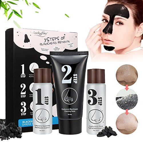 #Blackhead #Peeling #Mask - #3 #STEP #KIT #Blackhead #Remover #Mask, #Deep #Cleaning #Mask - #Set Contains #Exporting #Blackheads #Essence, #Blackhead #Cleaning #Paste, #Pore #Tightened #Essence ✔ Purifying Peel-Off Mask: The extract of bamboo charcoal effectively absorbs the #blackheads.Bamboo charcoal gently cleanses, has a high absorption ability and easily absorbs impurities from the pores and #blackheads, making skin clean. ✔ Pores Tightening: A mild astringent for p