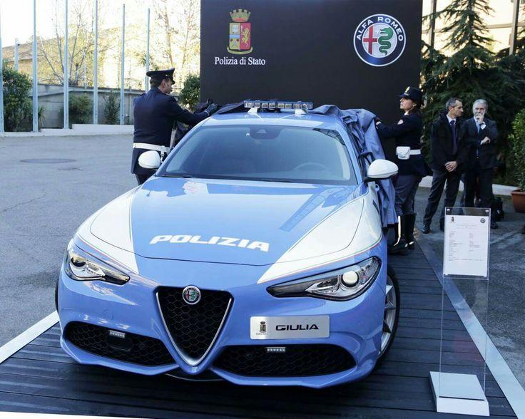 Alfa Romeo Gulia Polizia