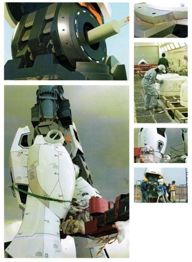 [Full Scans] Real-G 1/1 scale GUNDAM Photographs. Photographer Noriko Yamaguchi. ENJOY | GUNJAP