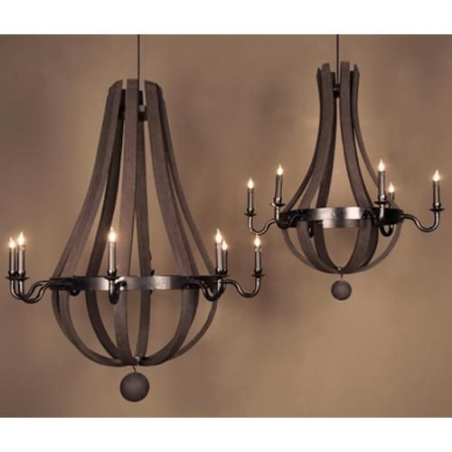 17 Best Images About Wine Barrel Chandelier For A Rustic