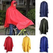 Fahrrad Cape Regenjacke Regenponcho Regencape Regenschutz Regenmantel Regencape