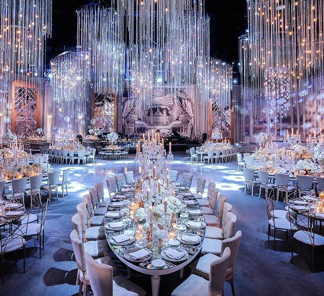 Regram Lebaneseweddings We Are In Love With This Glamorous Reception Planner Roberthykl Luxury Wedding Venues Luxury Wedding Decor Wedding Decorations