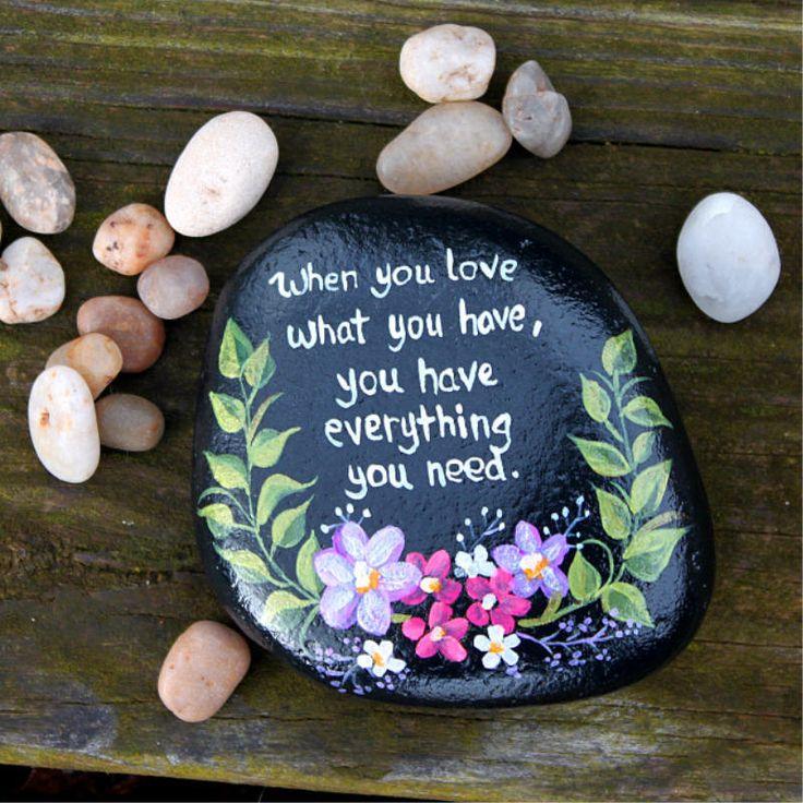 17 best images about stone art on pinterest beach rocks - Hand painted garden stones ...