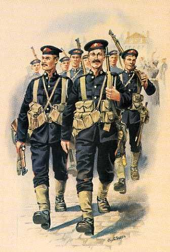 The Royal Marine Brigade In Belgium, August 1914