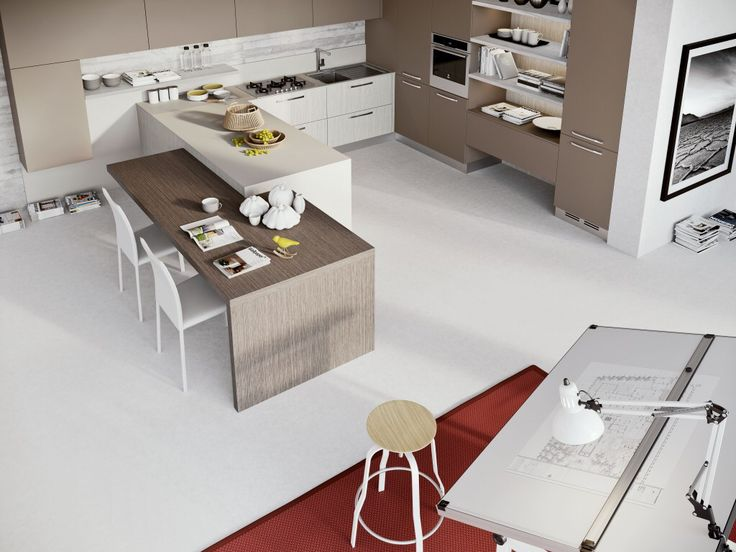 Cucine Lube cucine lube o arredo3 : 17 Best images about Cucine &co on Pinterest | Fitted kitchens ...