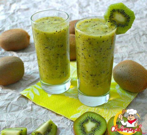 Resep Hidangan Buah Jus Kiwi, Minuman Sehat Untuk Diet, Club Masak