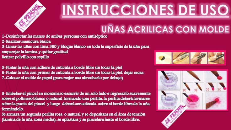 Kit Uñas Acrilicas C/molde Polimero Monomero C333 - $ 499,00 en Mercado Libre
