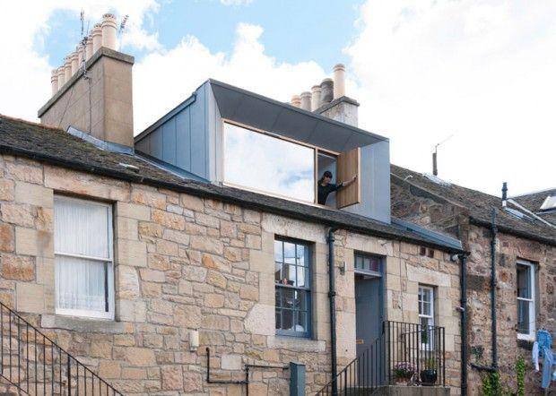 Lucarne - zinc  Regent Street Dormer par Konishi Gaggney - Edimbourg