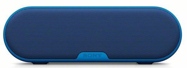 Sony SRS-XB2 altavoz bluetooth, NFC, batería 12 horas, resistente agua por 79 €  La larga duración de la #batería te permite escuchar durante todo el día; además, como el #altavoz es resistente al #agua, lo puedes usar en exteriores, en la #piscina o donde quiera que la #fiesta te lleve.   #mp3 #musica #ocio #chollos #ofertas
