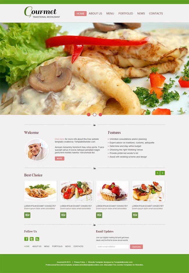 17 best Restaurant Website Inspiration images on Pinterest - free food menu template