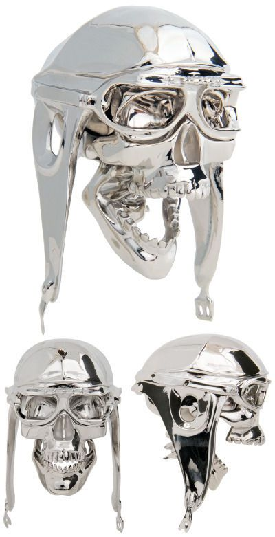 Chrome Track Skull Shifter Knob with Moveable Jaw.... Oh yeah gotta like it