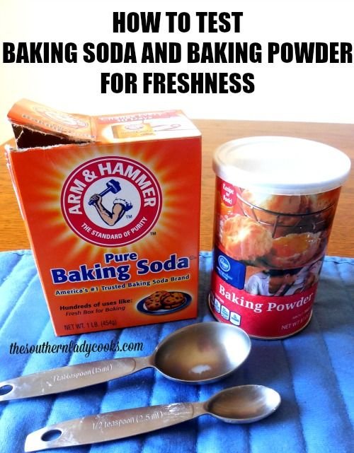 These simple procedures will let you test your baking soda and baking powder for freshness and is worth your time if you have these products around for very long.  I do a lot of baking during the h…