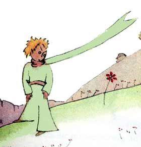 Mały Książę - rysunek Antoine de Saint-Exupery