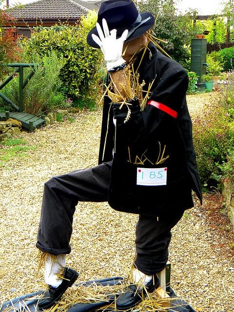 Harpole Scarecrow Festival 2009-Michael Jackson. by Chris H#, via Flickr