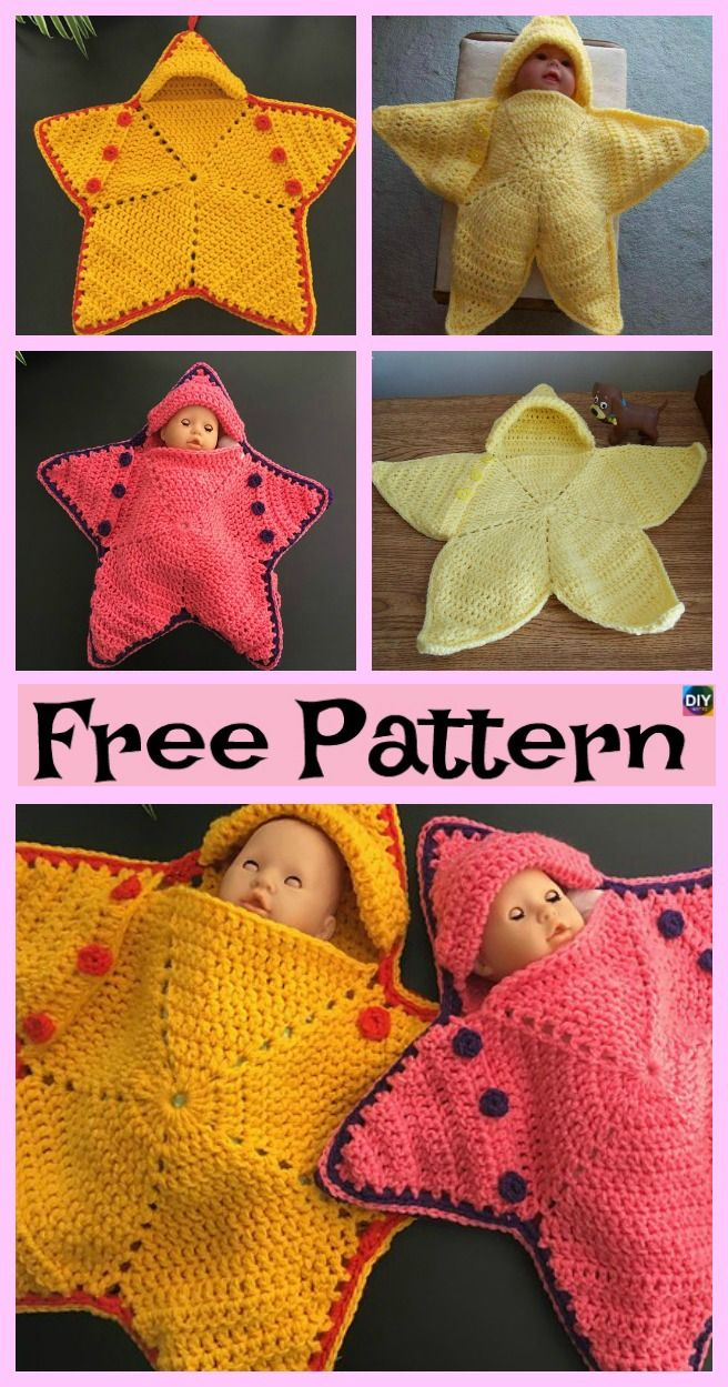 Cute Crochet Baby Star Bunting Free Pattern Crocheting And