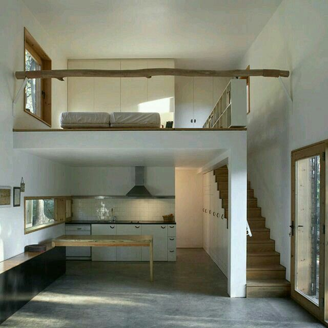 Tiny house two floors nice