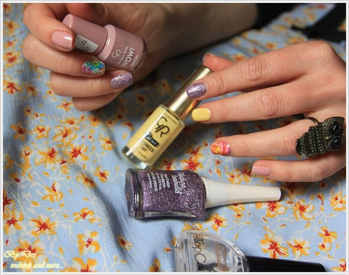 NOTD: Pretty pastels ~ By Dee make-up and more