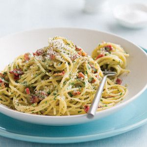 carbonara, makaron carbonare, włoska kuchnia, kuchnia włoska