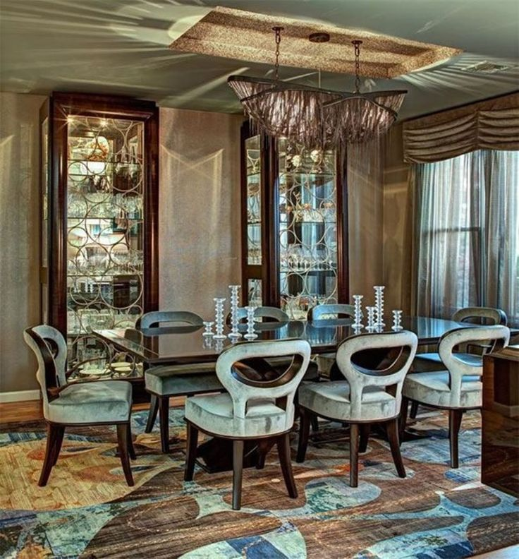Dining Room With Modern Silk Rugs And Velvet Chairs Tips To Caring Your Silk Rugs  Check more at http://www.wearefound.com/tips-to-caring-your-silk-rugs/
