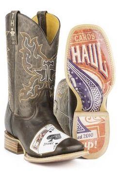 Tin Haul Black Jack Men's Cowboy Boots (14-020-0007-0250 BR)3