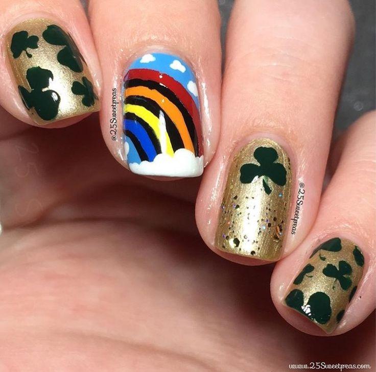41 best ST. Patrick\'s Day Nail Art images on Pinterest | St ...