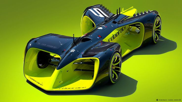 These are the crazy futuristic cars of Roborace, the world's first driverless racing series
