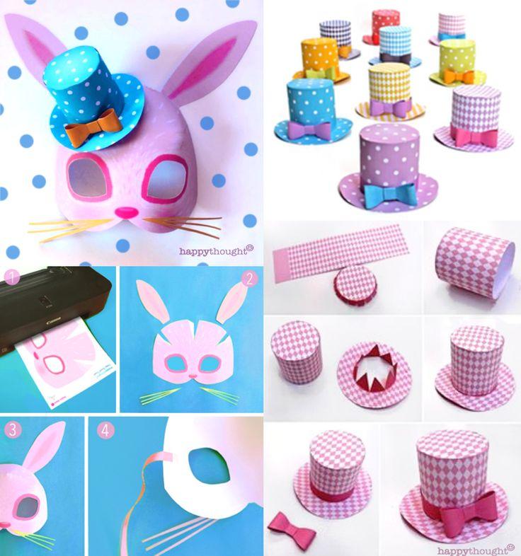 The 268 best Easter Bonnet images on Pinterest   Easter bonnets ...