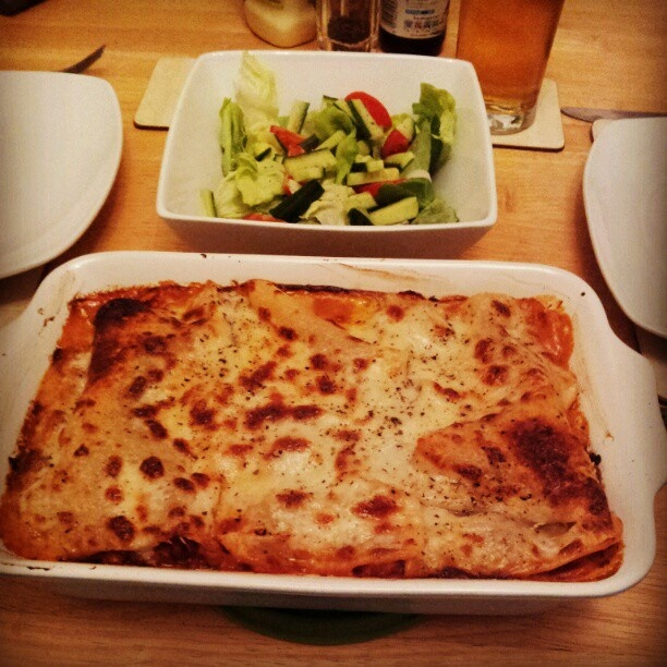 Gordon Ramsey lasagne