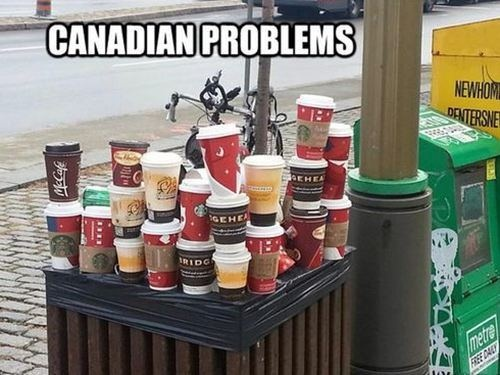 Canadian problems...