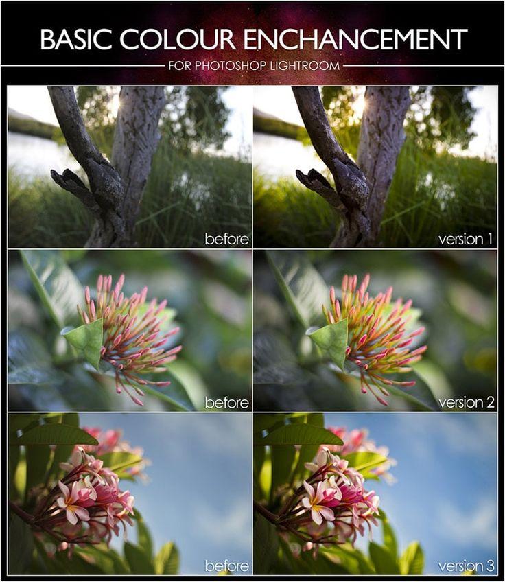 Basic Colour Enhancement Lightroom Presets