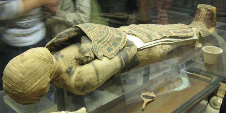 Egipska mumia z okresu hellenistycznego