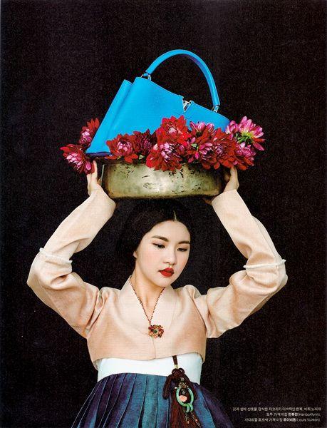 입고 싶은 우리옷 - 한복 린(燐) Korean Hanbok magazine.