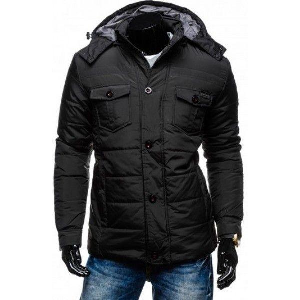 Pánska bunda na zimu - športovo-elegantná