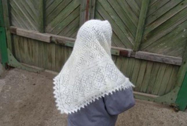 вязание спицами пуховых