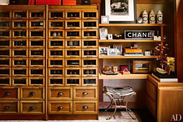 San Francisco Walk-in Closet : architectural digest