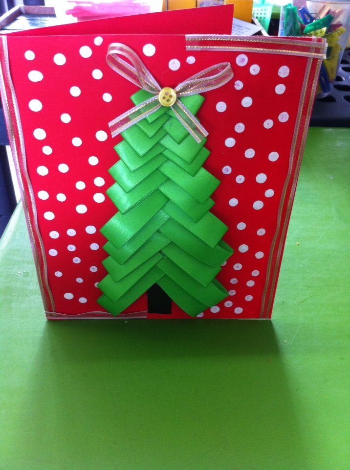 Tarjeta navideña #craft # manulidades #DY