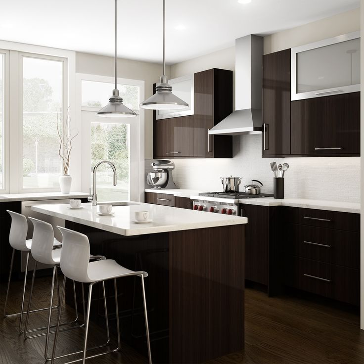 Modern Modular Cream Color Kitchen Cabinets Designs (9)